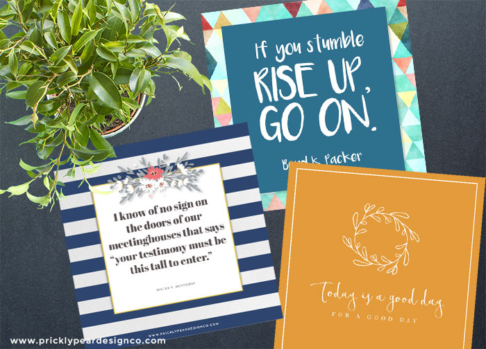 3bf8397b8910c A Great Way to Give Your Relief Society Sisters or Young Women Girls a  Little Boost – Pick Me Up Cards