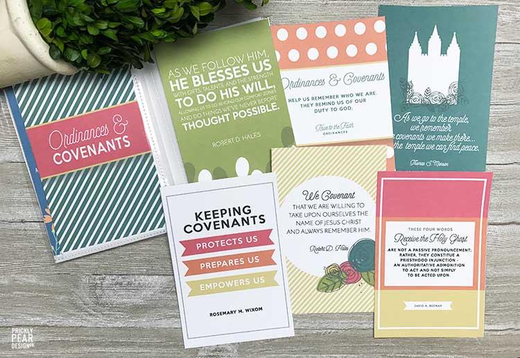 July Come Follow Me Lesson Handouts | Ordinances & Covenants